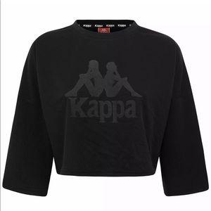 Women's NWT Kappa Activewear ANAK Crop Top TShirt